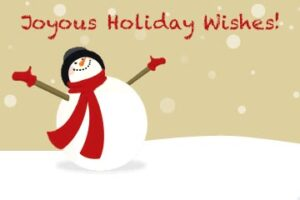 Joyous Snowman